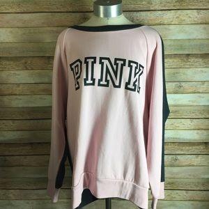 Pink/Grey VS Sweater